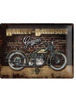 Harley-davidson reclamebord genuine
