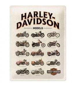 Harley-davidson reclamebord models
