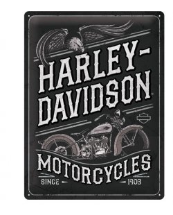 Harley-davidson reclamebord Motorcycles