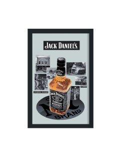 Jack Daniels spiegel met fles