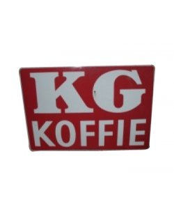 Occasion - Bord kg koffie