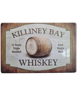 Killiney Bay Whiskey reclamebord