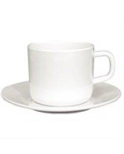 Koffie/theekop en schotel