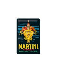 Martine & Rossi - Torino reclamebord relief