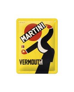 Martini ober reclamebord relief