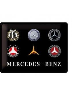 Mercedes-benz reclamebord