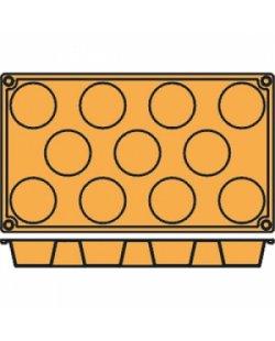 La pavoni patisserievorm 11 mini muffins
