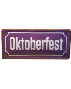 Oktoberfest reclamebord