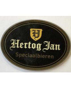 Occasion- Ovale taplens Hertog Jan Speciaalbieren plat