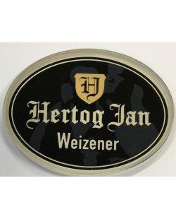 Occasion- Ovale taplens Hertog Jan weizener plat