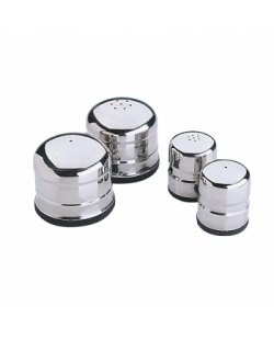 RVS mini peper & zout set