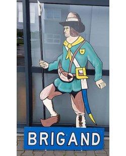 Occasion - Reclamebord Brigand