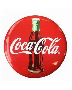 Coca-Cola reclamebord rond
