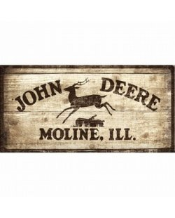 John Deere Moline ill.reclamebord
