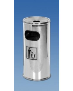 Nieuwe RVS afvalmand