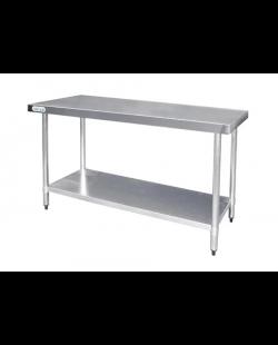 RVS Werktafel zonder achteropstand
