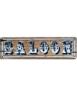 Saloon reclamebord