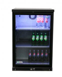 Serrco flessen-/ fustenkoeling 1 deurs (glas)