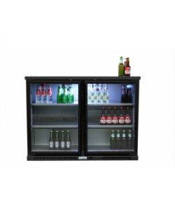 Serrco flessen-/ fustenkoeling 2 deurs (glas)
