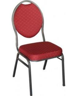 Stapelbare stackchair stoel rood