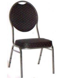 Stapelbare stackchair stoel zwart