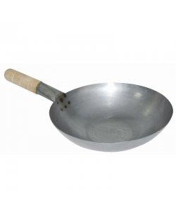Stalen wok