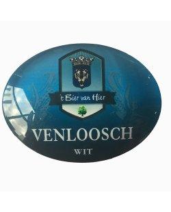 Occasion - Ovale taplens Venloosch wit