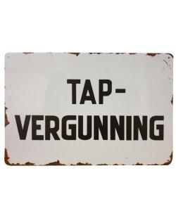 Tapvergunning reclamebord