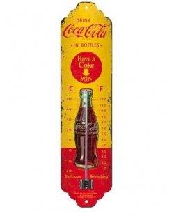 Thermometer Coca-Cola have a coke