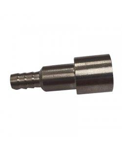 Tule recht voor 3/8 wartel 5mm