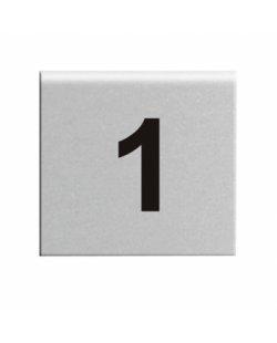 RVS tafelnummers