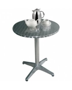 RVS ronde tafel