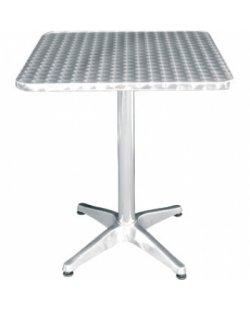 RVS vierkante tafel