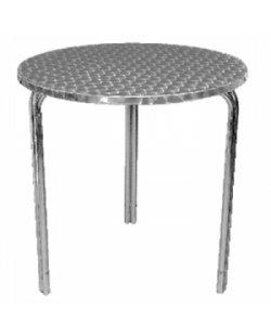 RVS stapelbare ronde tafel