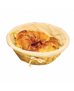 Broodmand met hoes Ø 25cm.