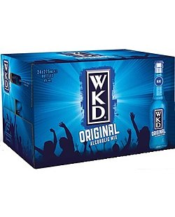 WKD Vodka Blue 24x 27.5cl