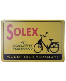 Solex wordt hier verkocht reclamebord