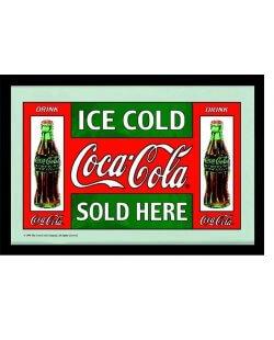 Ice cold Coca-Cola spiegel