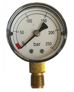 Inhoudsmeter manometer