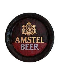 Amstel gipsen pubbord / wandbord