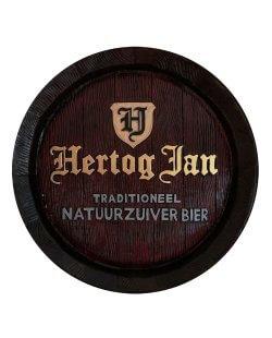 Hertog Jan gipsen pubbord / wandbord