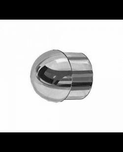 Buisdop rond RVS 40 mm