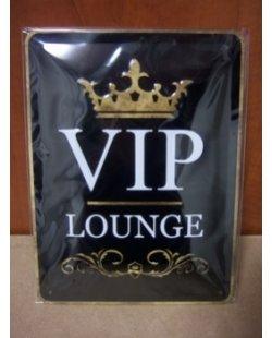 VIP lounge metalen pubbord