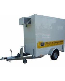 Isopolar Koelaanhangwagen Klein