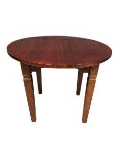 Occasion - ronde tafel 100x76 cm