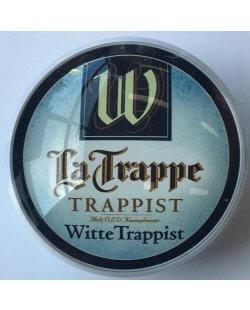 Occasion - Ronde taplens La Trappe witte trappist bol 69 mmø