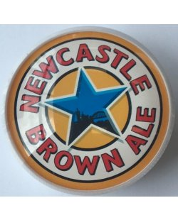 Occasion - Ronde taplens Newcastle brown ale bol 69 mmø