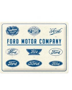 Ford motor company reclamebord