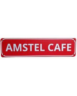 Amstel cafe reclamebord
