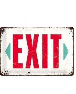 Exit reclamebord